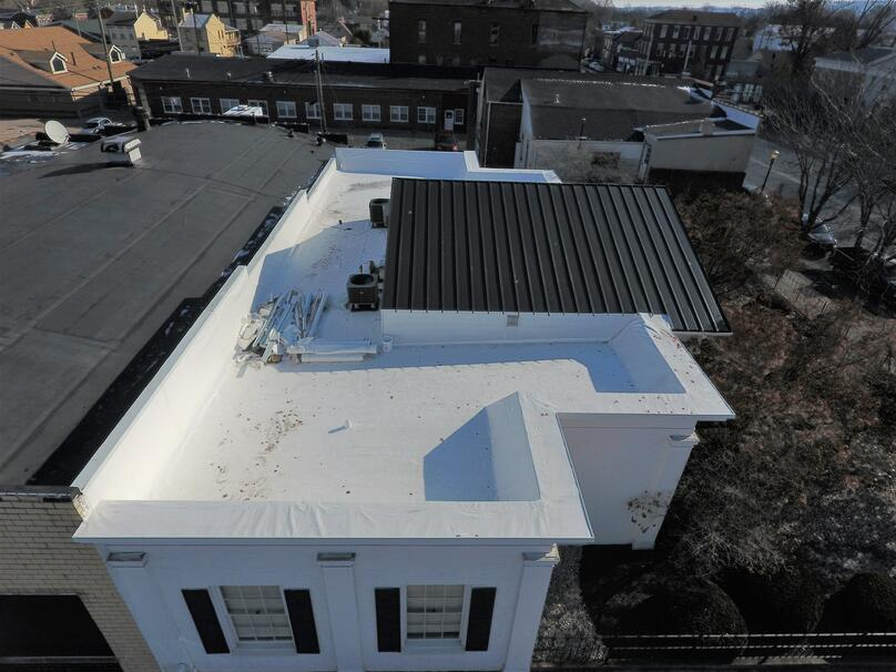 Flat Roof Standing Seam Metal Roof-Madison