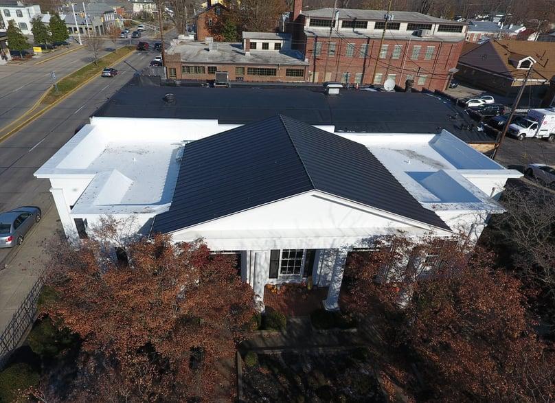 Standing Seam Metal Flat Roof Repair- Madison