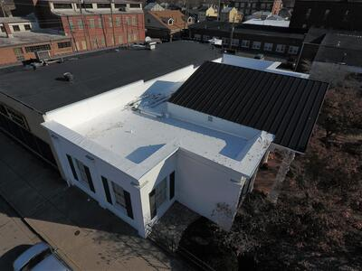 Standing Seam Metal Roof Installation Flat Roof Overview-Madison