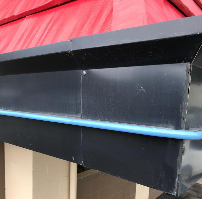 Dairy Queen Fascia Amp Commercial Guttering Repair Milton Ky