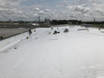 Flat Roof Recover Metal Roof Repair Overview-Delta