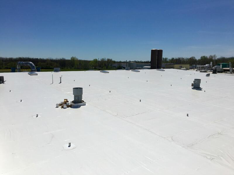 Delta Faucet Flat Roof Installation Phase 1 Amp 2 Greensburg