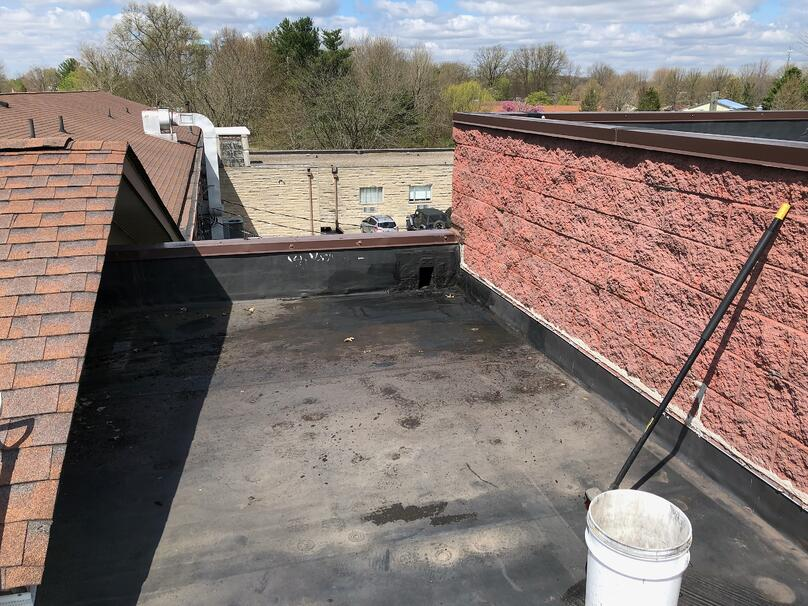 Rubber Flat Roof Repair-Dillsboro