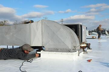 Flat Roof Flashing