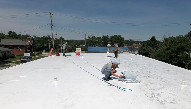 Duro-Last Flat Roof Installation Flat Roof Welding- North Vernon