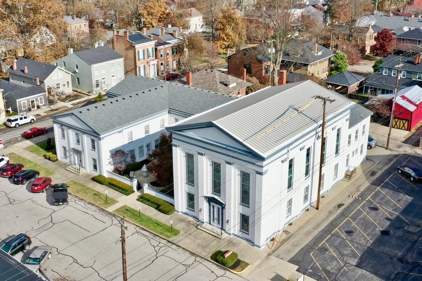 Standing Seam Metal Roof First Baptist  238T
