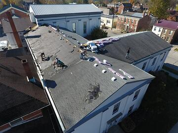 Commercial Shingle Roof