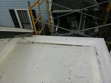 Box Gutter Repair on Historic Home Madison, Indiana