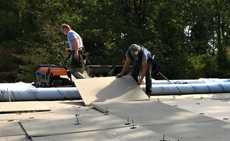 Flat Roof Repair and Installation Rhinobond - GM-1