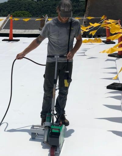Flat Roof Repair Membrane Welding-Samaritan-228010-edited