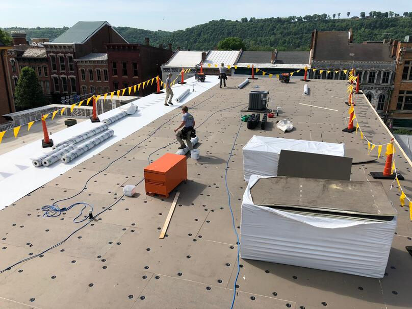 Flat Roof Repair Roofing Insulation-Samaritan