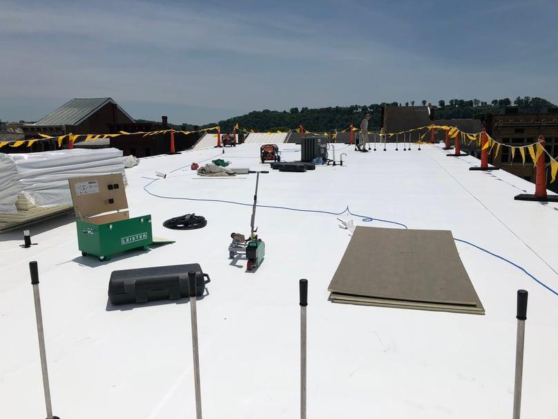 Flat Roof Repair Roofing Membrane-Samaritan