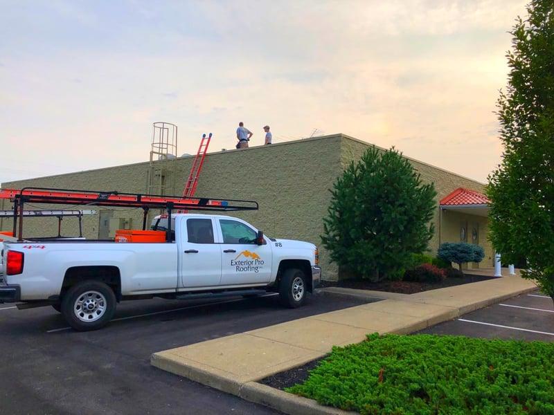 Flat Roof Repair Custom Coping Installation-Madison