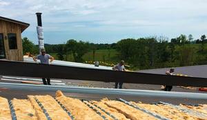 Metal Building Roof Insulation Retrofit