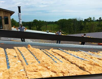 Standing Seam Installation Roof Hugger Insulation- Carrollton.jpg