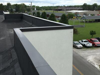 Custom Coping Installation Walls- HolidayInn.jpg