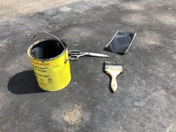 Rubber Roof Repair Patchwork Materials-IKE
