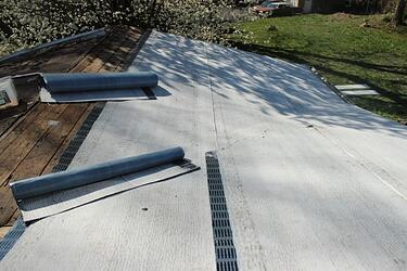 Standing Seam Metal Roof On Historical Home Madison Indiana