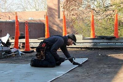 Installing_New_Flat_Roof-_Science_hall.jpg