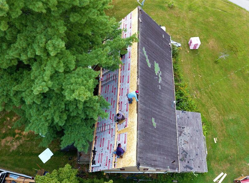 Shingle Roof Removal Dimensional Shingle Installation- Madison IN.jpg