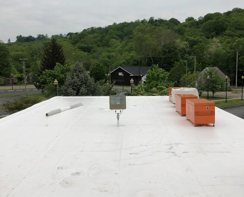 Flat Roof Recover Overhang Roof Repair- Madison KDH