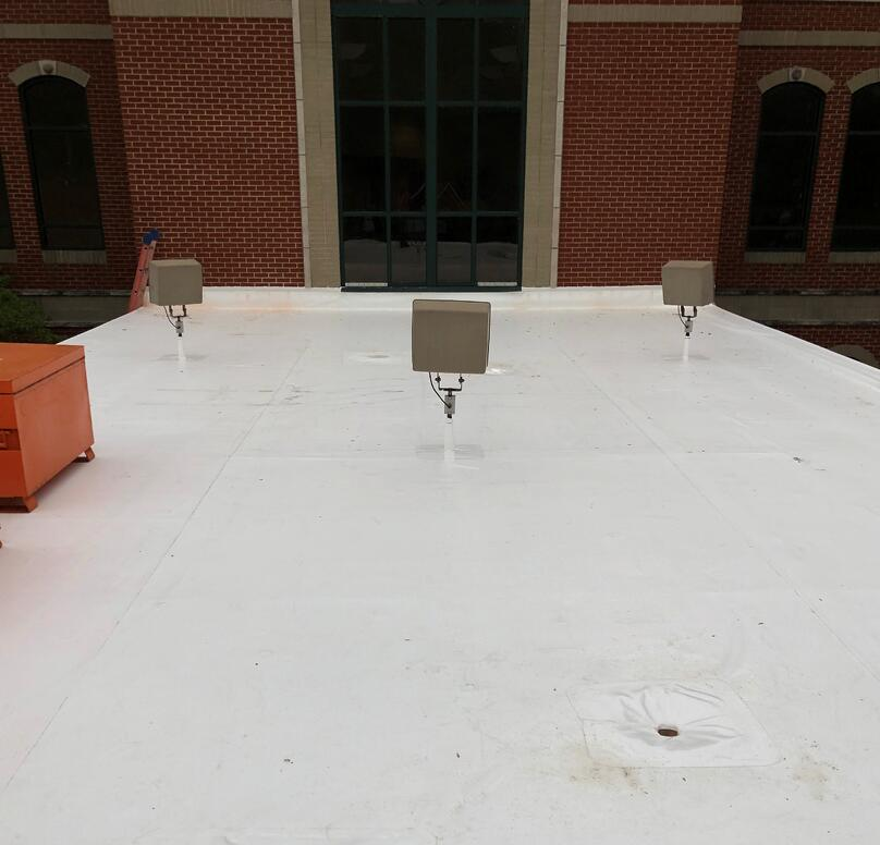 Overhang Flat Roof Repair- Madison KDH