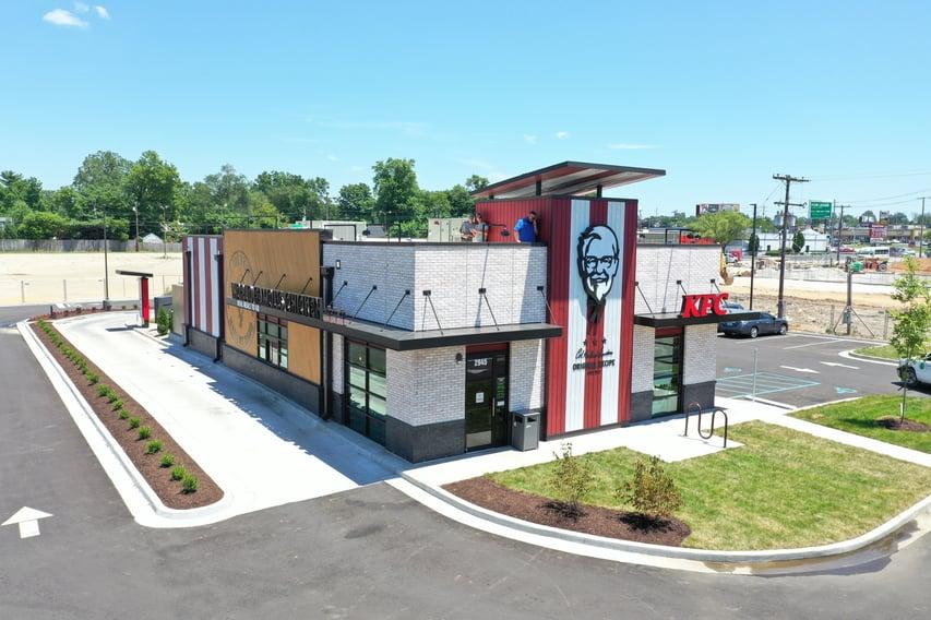 Flat Roof Repair KFC- Louisville
