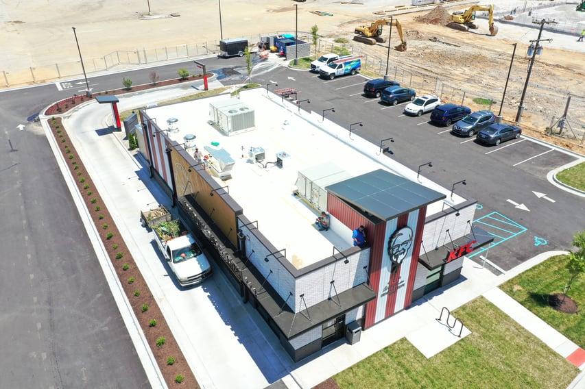 Flat Roof Repair Roofing Insulation Metal Coping- Louisville