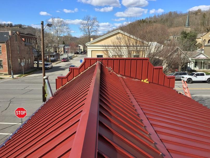 Custom Standing Seam Metal Panel Installation- Madison