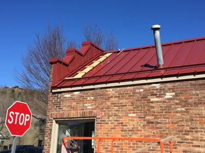 Standing Seam Metal Installation Coping Cap- Madison