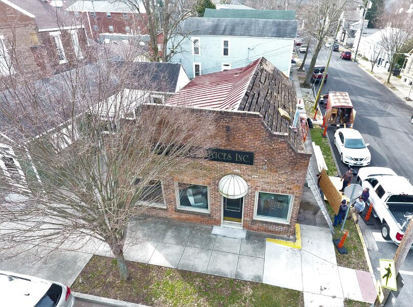 Standing Seam Metal Roof Repair- Madison