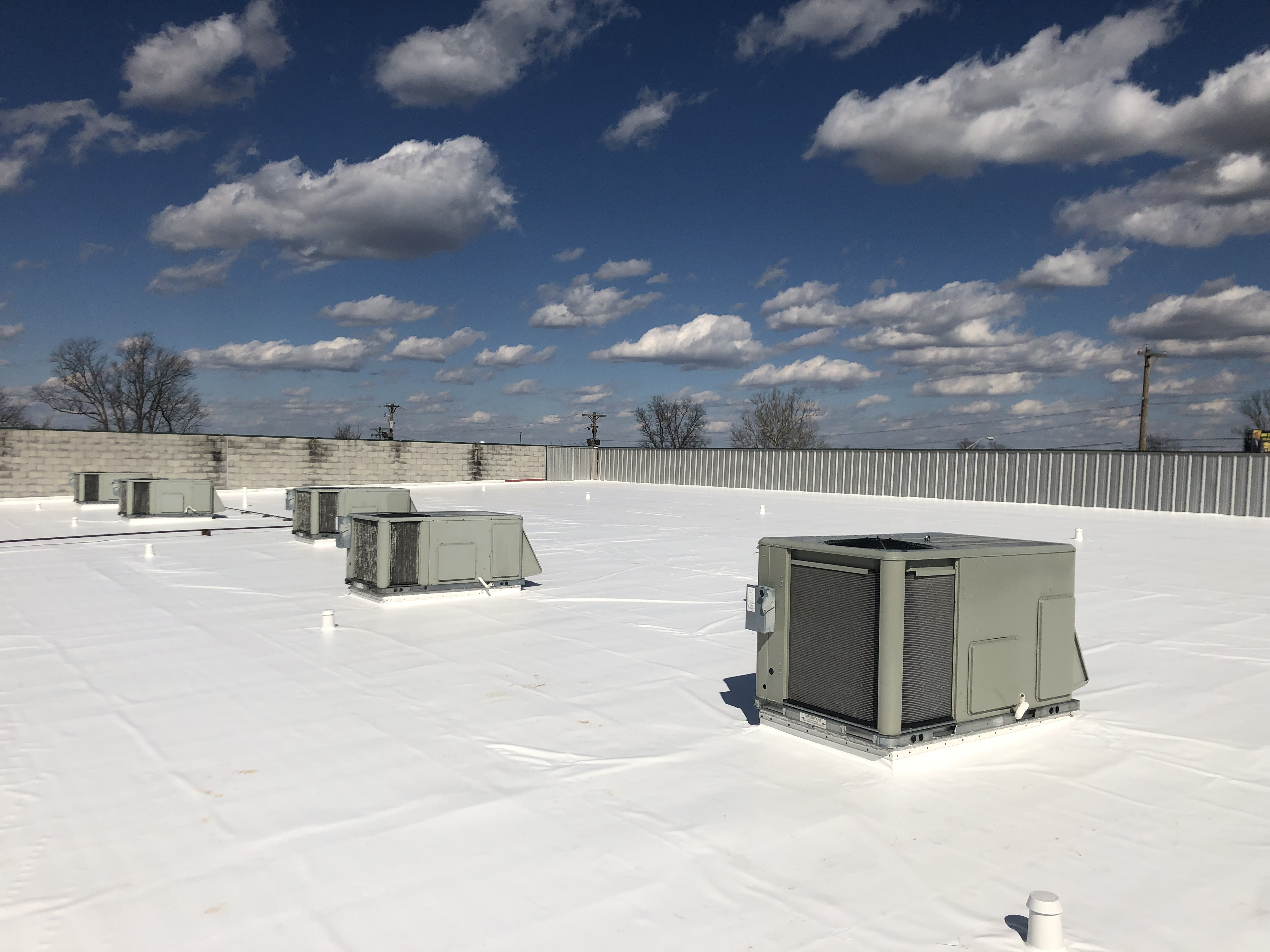 Flat Roof Membrane Welding- Lexington