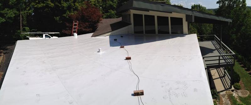 Flat Roof Seamless Gutters Repair- Madison.jpg
