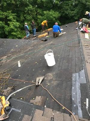 Shingle Roof Installation Progress-Madison.jpg