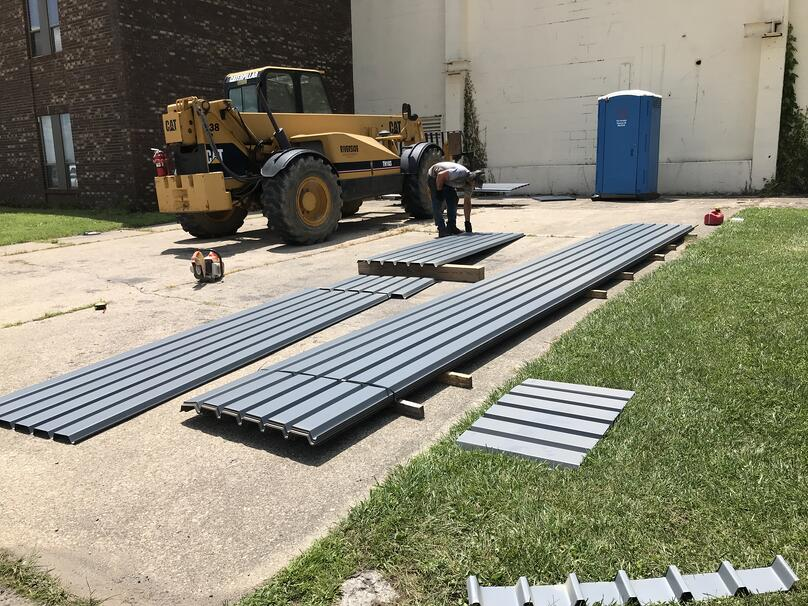 Metal Decking Installation Supplies-M&M