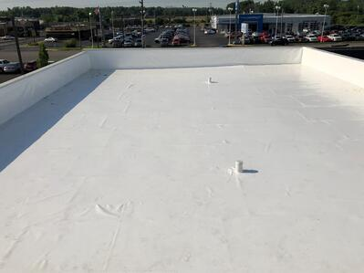 Flat Roof Duro-Last Repair Completion-Madison