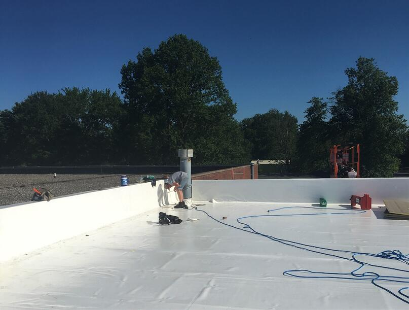 Flat Roof Duro-Last Repair-Madison