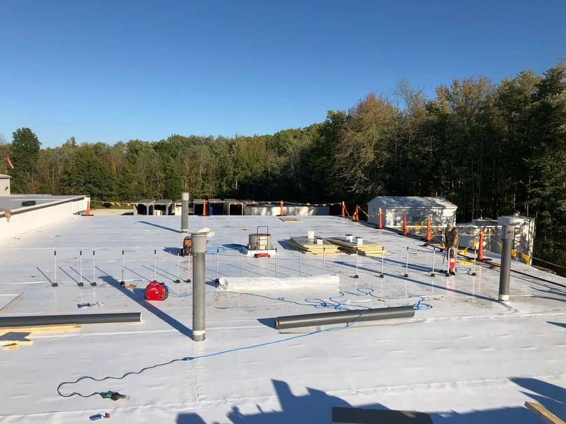 Flat Roof Membrane Rhinobond- Madison