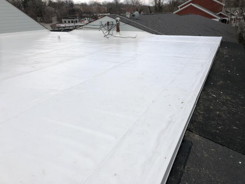 Flat Roof Recover Installation Overview-Louisville