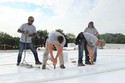 Indiana Duro Last flat roof repair