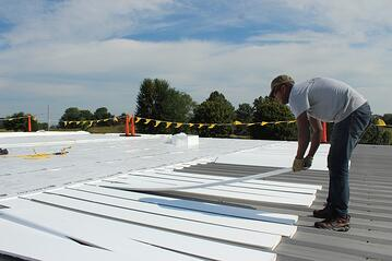 Indiana Commercial Flat Roof Repair