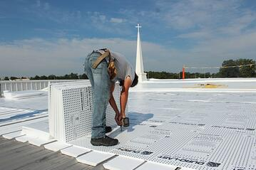 Duro-Last PVC membrane Installation Indiana