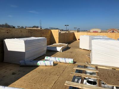 Flat Roof Membrane Installation-Antioch