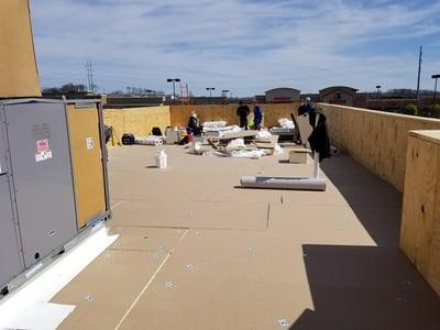 Flat Roof Repair Insulation Installation-Antioch