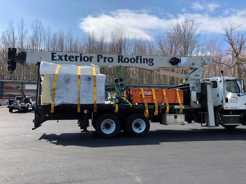 Flat Roof Repair Membrane Installation Materials- Salem