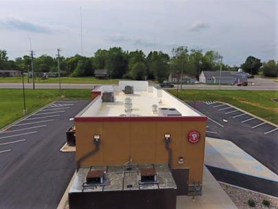 Flat Roof Repair Metal Coping Installation- Salem