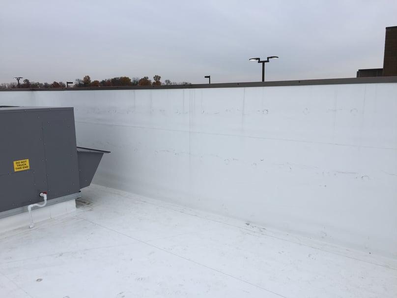 Duro-Last Flat Roof Installation-Seymour