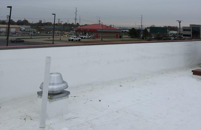 Flat Roof Parapet Walls Installation- Seymour