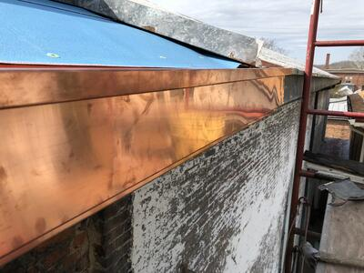 Commercial Guttering Repair Copper Guttering-PrinceofPeace
