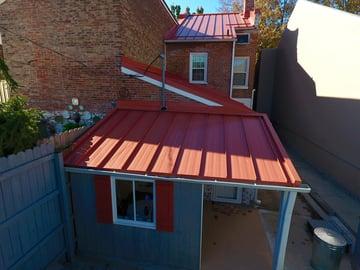 Historic Home Metal Roof Repair